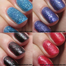 OPI Liquid Sand Swatches