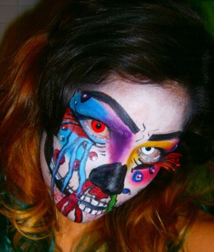 http://smokincolour.blogspot.com/2012/10/schizophrenic.html  https://www.makeupbee.com/look.php?look_id=67409