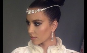 Kim Kardashian Sultry Makeup Tutorial