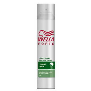 Wella Short Hair Very Strong Hold Hair Spray
