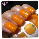 Jelly Sandwich Mani with The Nail Junkie Orange