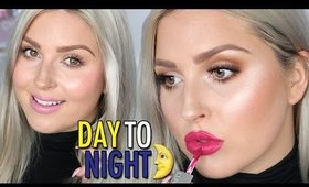 Day To Night Makeup Tutorial! ♡ in 5 EASY Steps!