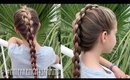 How To: French Four (4) Strand 3D / Round Braid   Pretty Hair is Fun