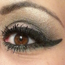Golden Pink Smoky Eye