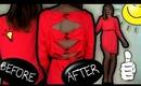 How to Renovate / Recycle your Old Dress. Dress Transformation!