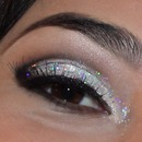 Olho com glitter