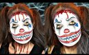 Creepy Clown Halloween Makeup Tutorial | Collab with @ChinaBell