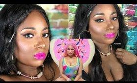Nicki Minaj Good Form Makeup Tutorial | Winged Eyeliner Tutorial Nicki Minaj | Vicariously Me