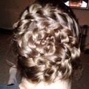 flower dutch braid <3
