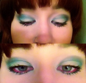 Makeup I did on myself. www.sarahblissmakeup.com