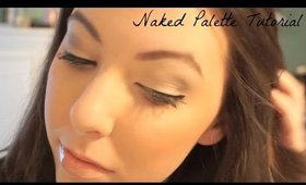 EASY MAKEUP TUTORIAL WITH NAKED PALETTE | COSMO4CONFIDENCE
