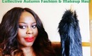 Collective Autumn Fashion Makeup Haul & Asos Give Away: Mac Zara Primark Newlook Kryolan