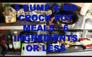 5 DUMP & GO CROCK POT MEALS | 6 INGREDIENTS OR LESS | QUICK & EASY CROCK POT RECIPES