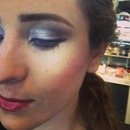 Did co workers makeup!