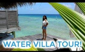 PRIVATE WATER VILLA TOUR: Maldives, Kuramathi Island