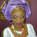 Nigerian Traditional marriage makeup