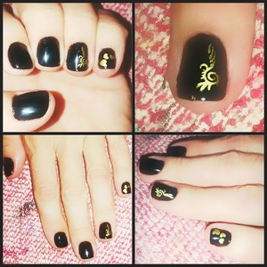 Nail art by me :)