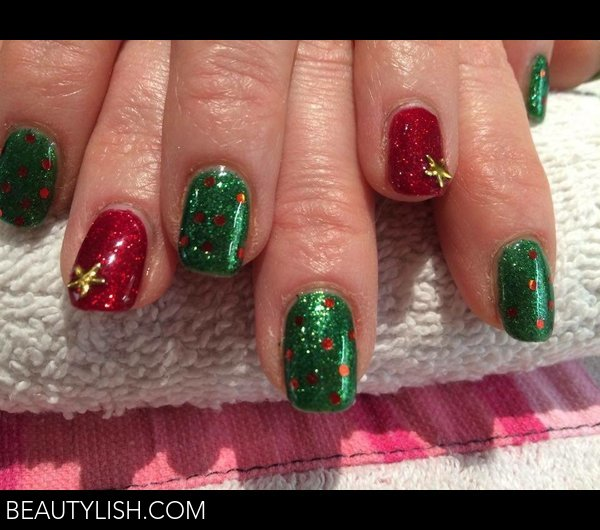 Christmas Nail Art Kimberley Ms Photo Beautylish