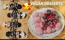 What I Eat. Vegan Desserts Recipes. My Favs