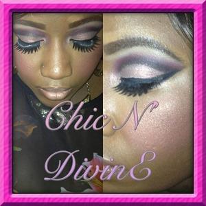 Drag inspired eyeshadow