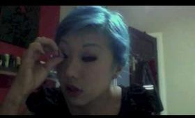no mirror makeup challenge!