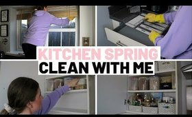 KITCHEN SPRING CLEAN WITH ME 2020 UK | CLEANING MOTIVATION PART 1