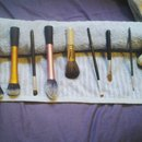 Clean brushes!