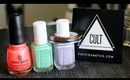 Blackbox By Cult Cosmetics Review- Nail Polish Subscription! | OliviaMakeupChannel