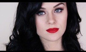 Katy Perry Inspired Holiday Look | Makeup, Hair & Nails