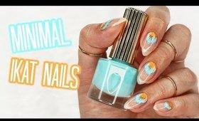 Minimalistic IKAT Nails | Kirakiranail ♡