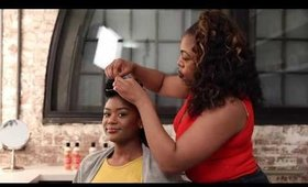 Curls Poppin Pineapple Review and Easy Updo by Monae Everett