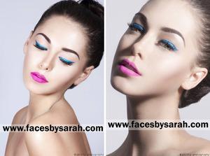 Model: Megan Makeup/Hair: Sarah Chaudhry Photographer: Shavonne