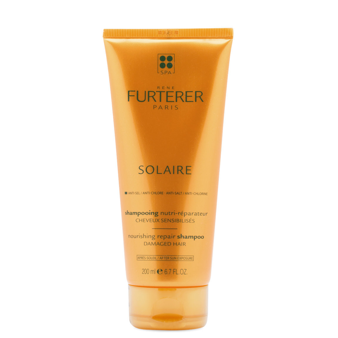 Rene Furterer Solaire Nourishing Repair Shampoo product swatch.