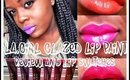 L.A Girl Glazed Lip Paint Review/Swatches
