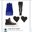 Edgy Rock Outfit 👍👍