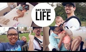 DAY IN THE LIFE   YOUNG STAY AT HOME MOM & A 4 MONTH OLD!   COLLAB WITH LAVISHLYBRITT