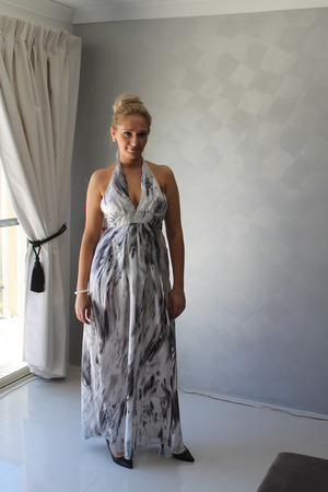 Kookai Silk Maxi Dress