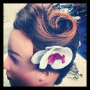Victory Roll and Orchids