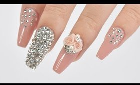 Attach Crystals Onto Your Nails Perfectly!