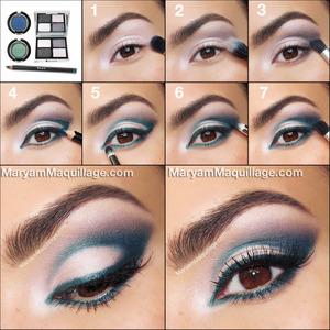 DETAILS on my blog: http://www.maryammaquillage.com/2013/07/playful-peacock-summertime-makeup.html