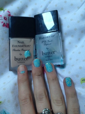 Pained my nails last night and by this morning basically the whole polish pealed off one of my nails at once... Very disappointed butter London