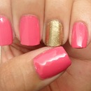 pink LUXE accent