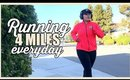 Running 4 Miles Everyday // A Week Of Running #FitWithJack