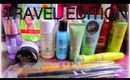 How to Pack For Travel Skincare Bag Organization Travel makeup Bag tips Whats in My Bag