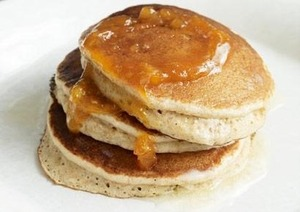 ♡Skinny Pancakes!♡  ♡I know this is not beauty related but some of you asked me how to keep fit, so I'm going to share my 26 calorie pancakes with you!   ♡17 servings♡ With the calorie content so low you can add blueberries for a sweet treat, cheese and chives and salmon for a savoury treat or just have plain alongside whatever else you are having. I really like it with a shake of cocoa powder and a teaspoon honey(to rid those pimples!) Enjoy!♡  Ingredients  ♡3/4 c. cake flour  ♡2 tsp. baking powder  ♡3/4 cup non-dairy milk of your choice ♡2 egg whites   1. Sprinkle dash of salt on egg whites and beat until stiff, but not dry.  2. Add milk to flour and salt. Beat until smooth.  3. Add baking powder and beat a few seconds more  4. Fold in beaten egg whites.  5. Pour into the greased pan on low heat and flip after air bubbles appear. Make sure it is a shade of golden brown!  Nutrition facts: Calories: 26  Fat: 0.0g  Cholesterol:0mg  Sodium: 149mg  Carbohydrates:5g  Fibre: 0.1g  Protein: 1.3g  xoxo Carabelle