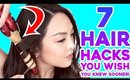 7 Hair Hacks You'll Wish You Knew Sooner!