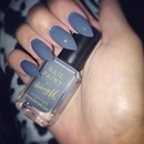 Barry M grey nails..