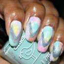 Californails July Nail Art Challenge! Day 1! Pastel!