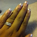 Pearl Acrylic Nail