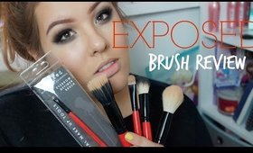 Exposed Brushes Review & Contour Routine
